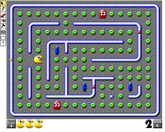 PacMan-like game