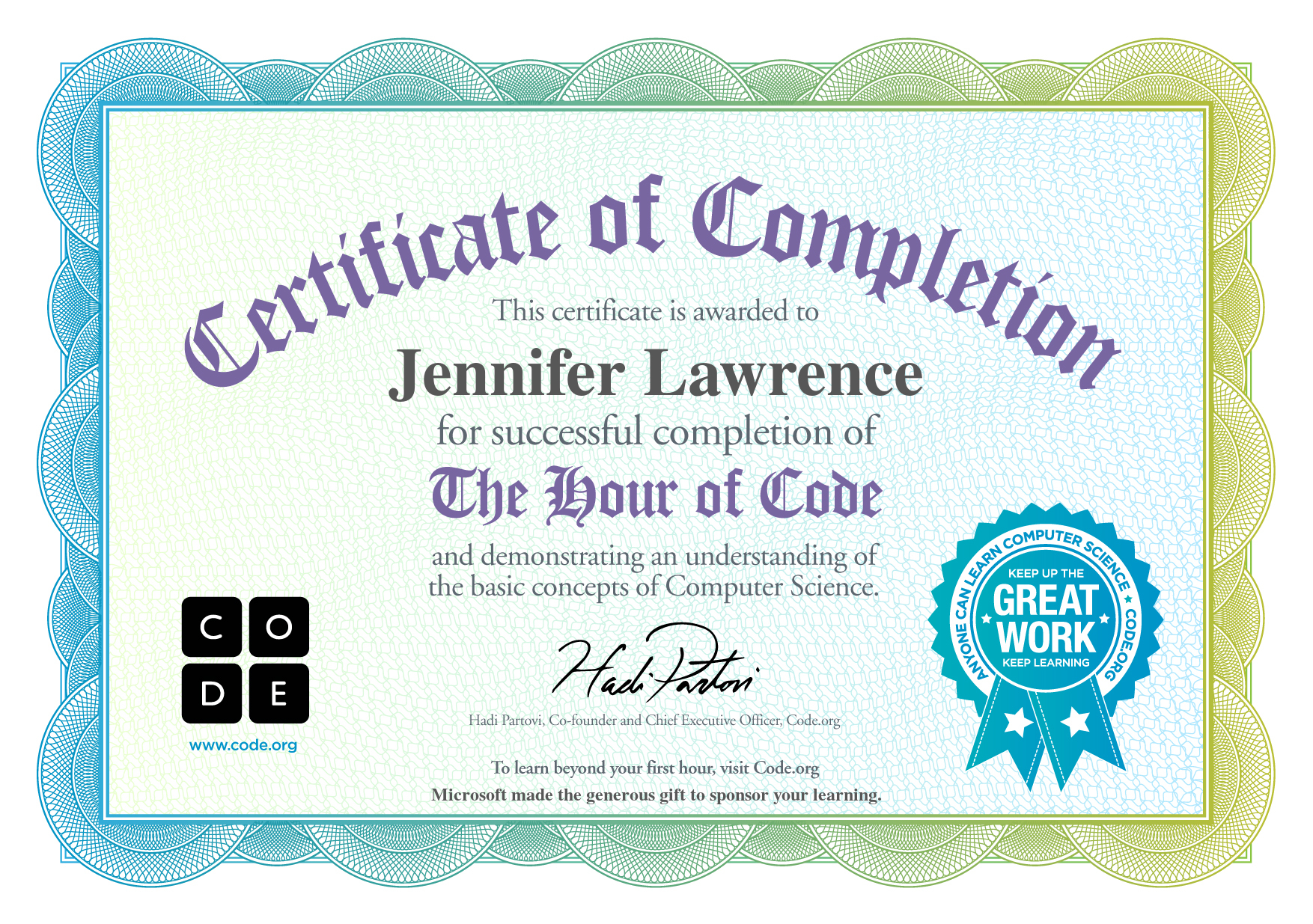 Certificate hour of code 2014 english.jpg