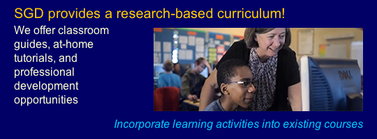 """SGD provides a research-based curriculum!"""